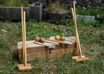 Croquet Sets by Martin Symes Wood Turner in Yarcombe