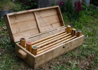 Lawn Croquet Set by Martin Symes