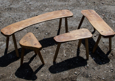 Wooden Hand Made Trestle Tables