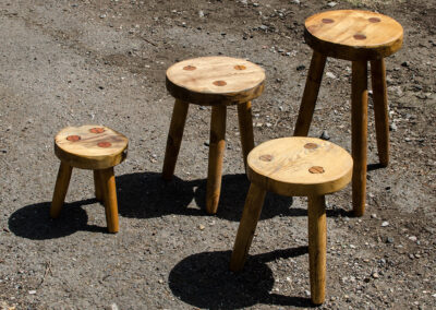 Milking Stool - Handmade by Martin Symes