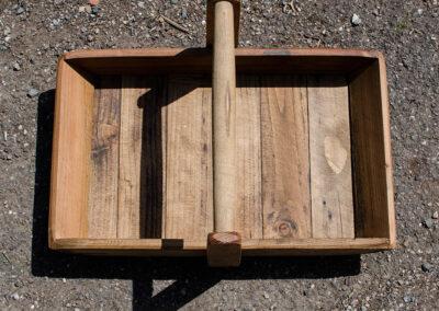 Handmade Wooden Trugg