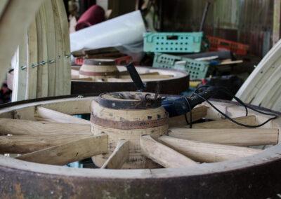 Wooden Wheels - Martin Symes Wheelwright