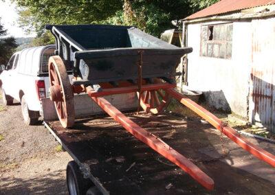 2 Wheeled Farm Cart by Martin Symes