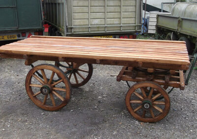 4 Wheeled Barrow by Martin Symes