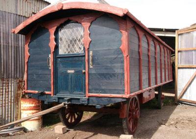 Circus Caravan Restoration by Martin Symes