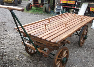 Funeral Bier Barrow Adaptation by Martin Symes