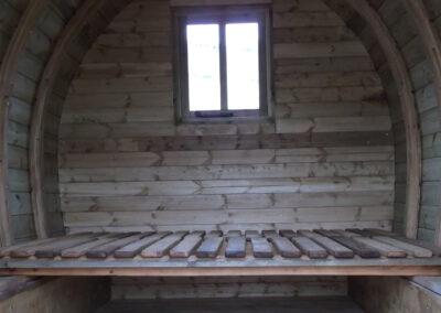 Gypsy Caravan Interior all Wood